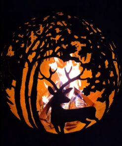 Garden Fireplace Forest Fireball Firepit