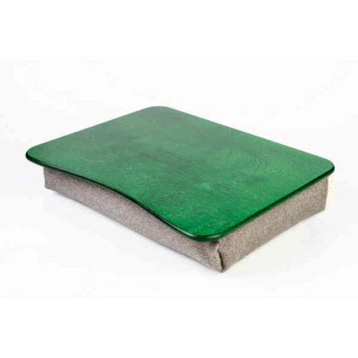 Green Pillow Laptop Tray