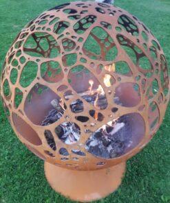 Stones Fireball Garden Fireplace Firepit