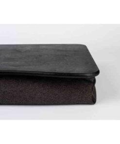 Черный поднос на подушке для ноутбука