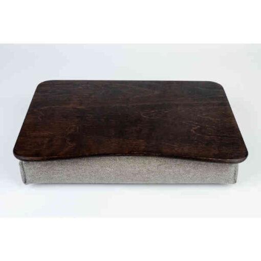 Brown Pillow Laptop Tray