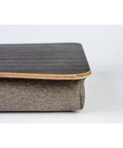 Поднос на подушке для ноутбука Эбеновое дерево натур