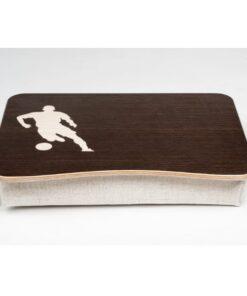 Football Pillow Laptop Tray