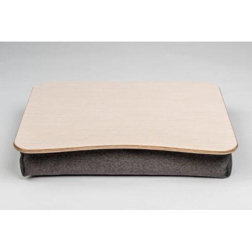 Поднос на подушке для ноутбука Белый дуб