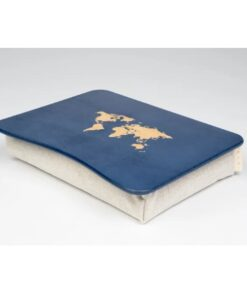 World Map Pillow Laptop Tray