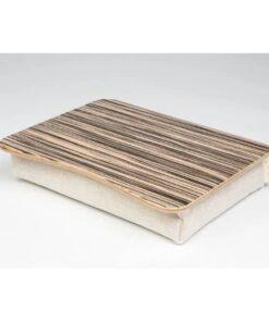 Поднос на подушке для ноутбука Зебрано светлый