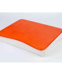 Оранжевый поднос на подушке для ноутбука
