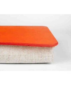 Orange Pillow Laptop Tray