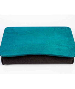 Turquoise Pillow Laptop Tray