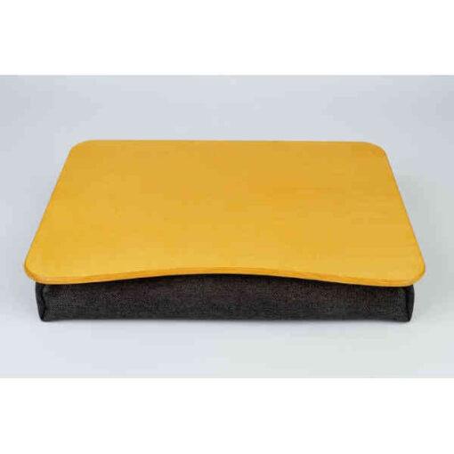 Yellow Pillow Laptop Tray