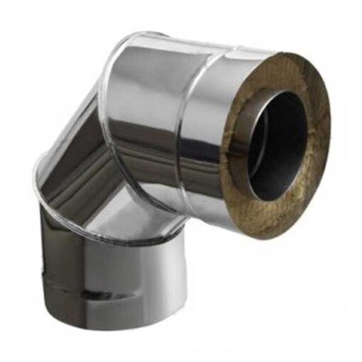 Insulated Flue Bend 90°